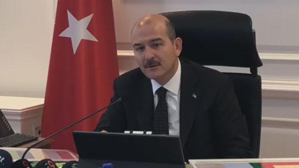 İçişleri Bakanı Süleyman Soylu: 4 mevsim operasyon halindeyiz