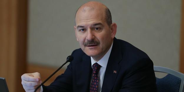 İçişleri Bakanı Süleyman Soylu bayramda da mola vermiyor
