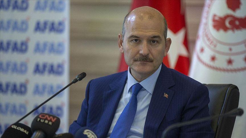 İçişleri Bakanı Süleyman Soylu: Harekatın temel hedefi terörü yok etmektir