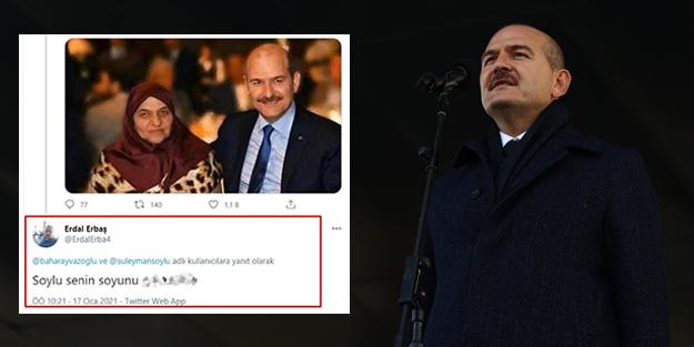 İçişleri Bakanı Süleyman Soylu'ya küfreden Erdal Erbaş'ın sicili kabarık!