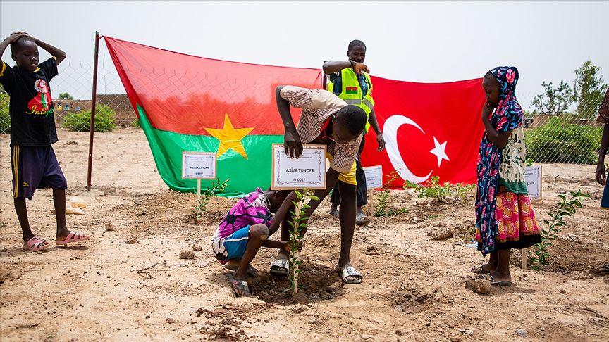 İDDEF'ten 'Afrika Fidan Projesi'