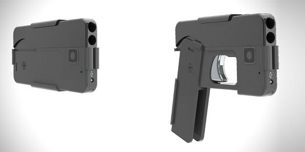 Silaha dönüşebilen telefon üretildi