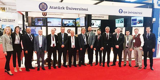 IDEF'e katılan tek kamu üniversitesi! Atatürk Üniversitesi IDEF'e çıkarma yaptı