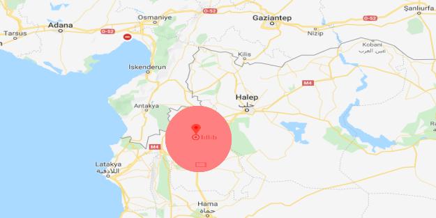 İdlib nerededir?