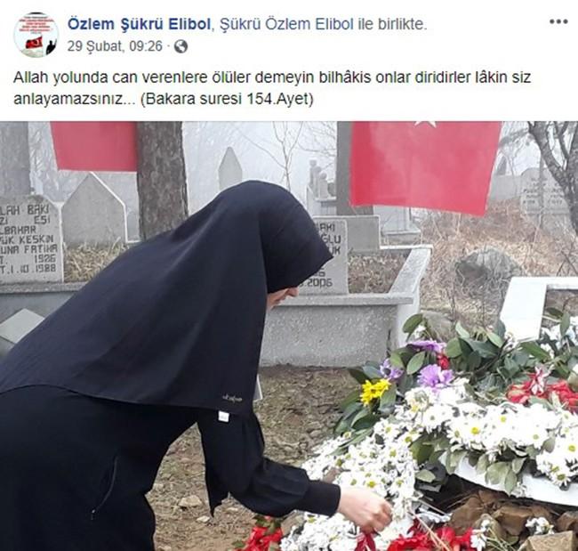 """İdlib şehidinin 8 aylık hamile eşi: """"Rabbim bizi o kadar çok sevmiş ki"""""""