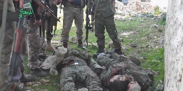 İdlib'de eş zamanlı taarruz başladı