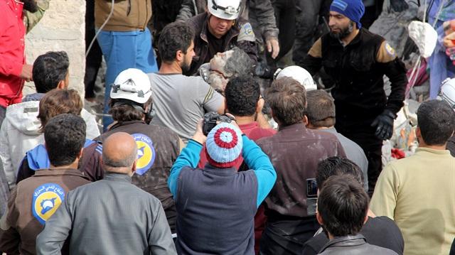 İdlib'e hava saldırısı: 4 kişi öldü