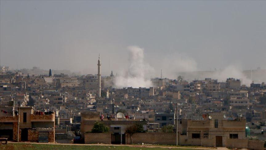 İdlib'e hava ve kara saldırıları kesilmedi
