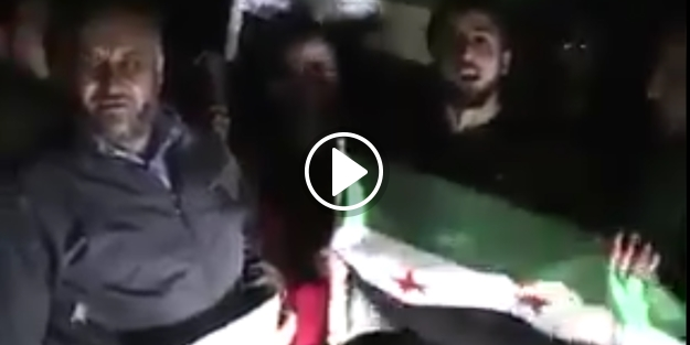 İdlib'te Mehmetçik ve Erdoğan'a sevgi gösterisi