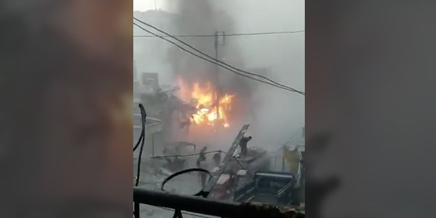 İftar vaktinde katliam: Katil Esed pazar yerini vurdu!