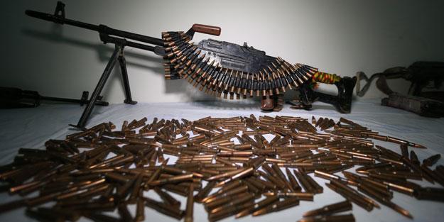 3 çuval silah bulundu!