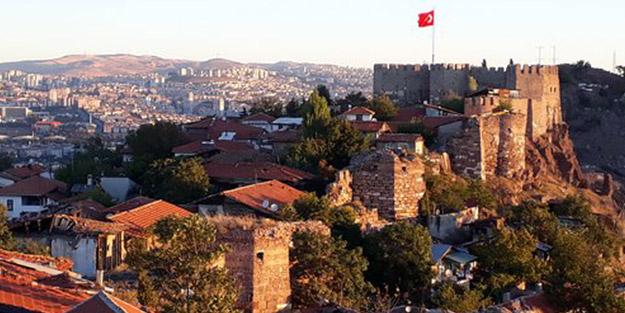 Ankara Kalesi'ne çok sayıda ekip sevk edildi