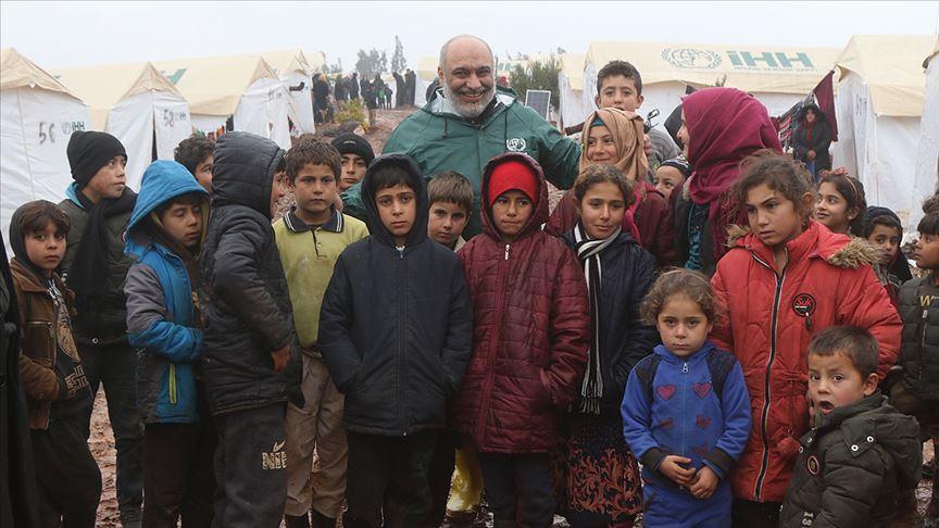 İHH Genel Başkanı Bülent Yıldırım'dan İdlib'e acil yardım çağrısı