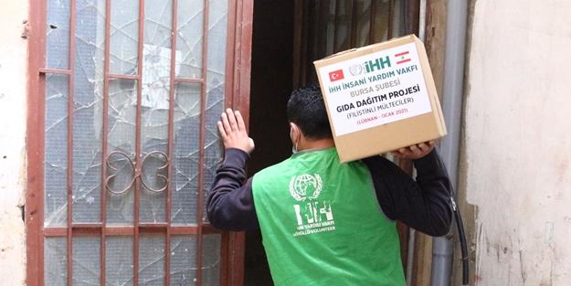 İHH'dan 1180 Filistinli aileye yardım