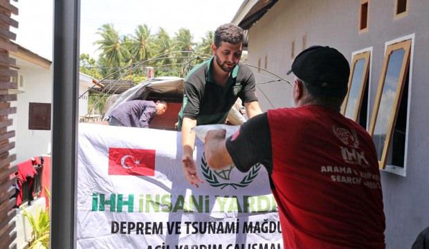 İHH'dan 7 bin 400 afetzedeye acil yardım!
