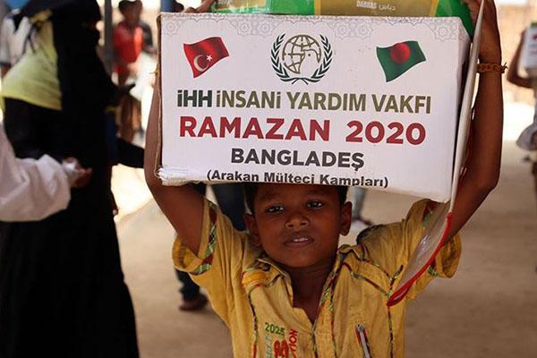 İHH'dan Asya ülkelerine ramazan yardımı