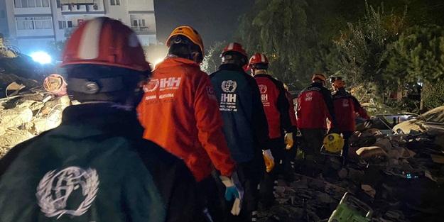 İHH'dan deprem bölgesine yardım