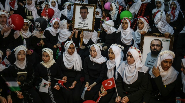 İHH'nın Gazze'deki Kur'an kursu kampı bitti