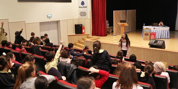 İhlas Koleji'nde geri dönüşüme destek etkinliği düzenlendi
