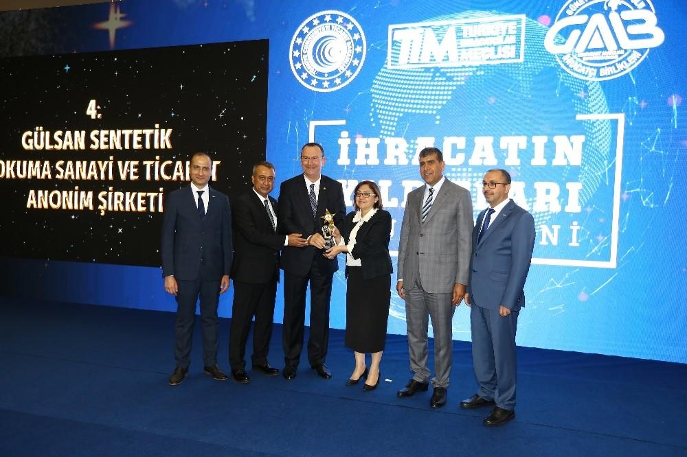İhracatın Şampiyonu Gülsan Holding'e GAİB'ten Rekor Ödül