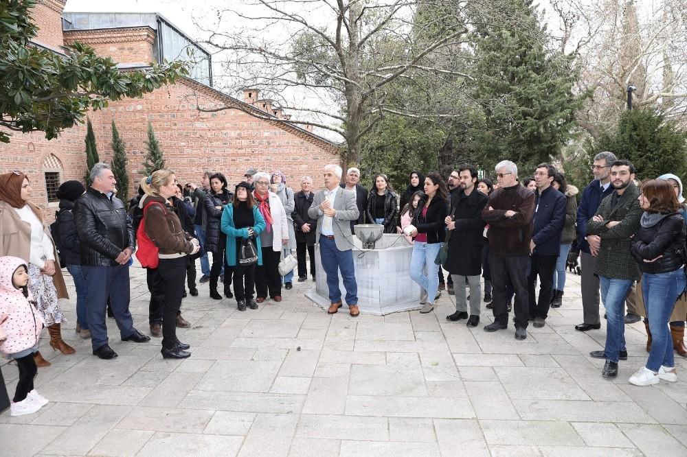 II. Murat Han'a Bursa'da anma