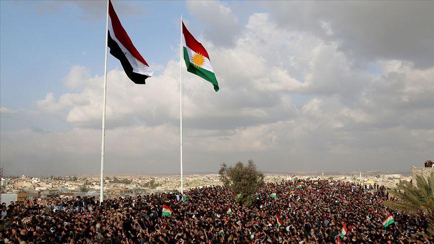 IKBY Irak'taki gösterileri endişeyle izliyor