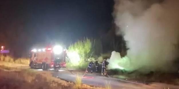İki otomobi kafa kafaya çarpıştı: Bir ölü
