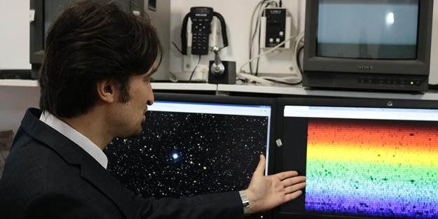 İki yıl gözlemledi! Türk astronom uzayda