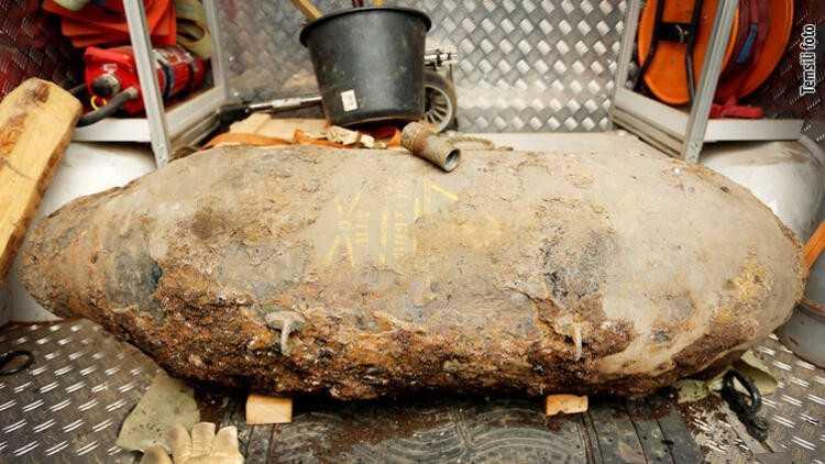 İkinci dünya savaşından kalan bomba iki kişiyi öldürdü