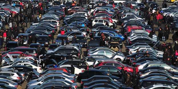 İkinci el otomobilde en çok satan 10 marka belli oldu