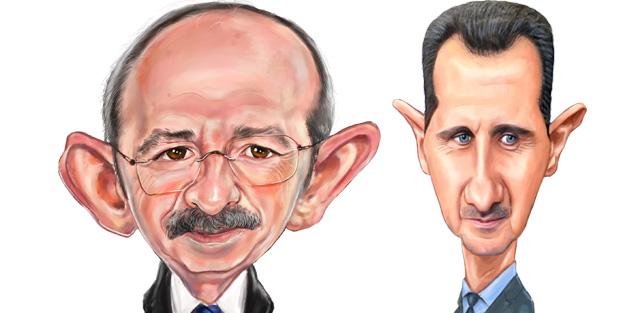 İkisi de aynı kafadan! Kılıçdaroğlu ve Esed'in karın ağrısı aynı...