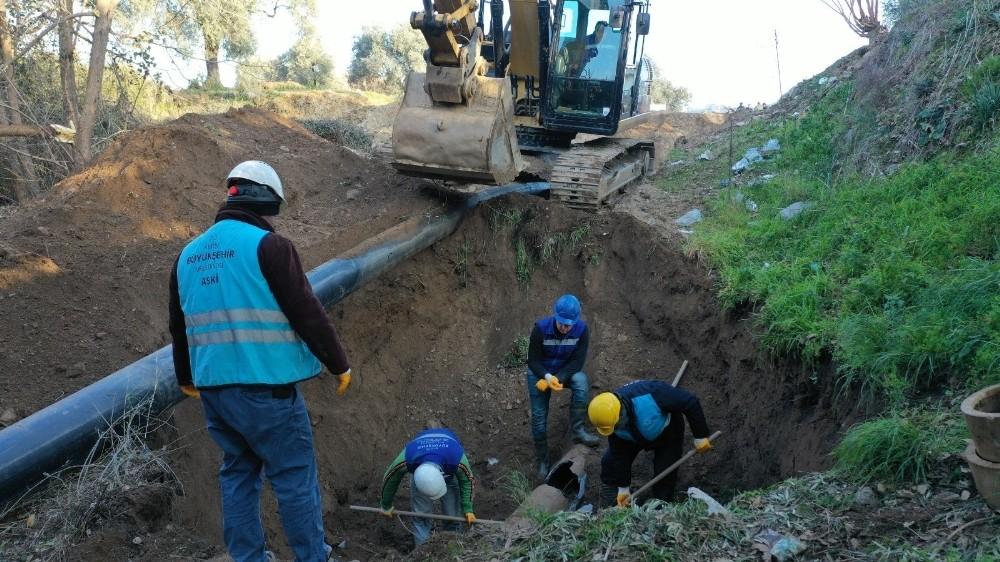 İkizdere Barajı'ndan Umurlu'ya içme suyu verilmeye başlandı