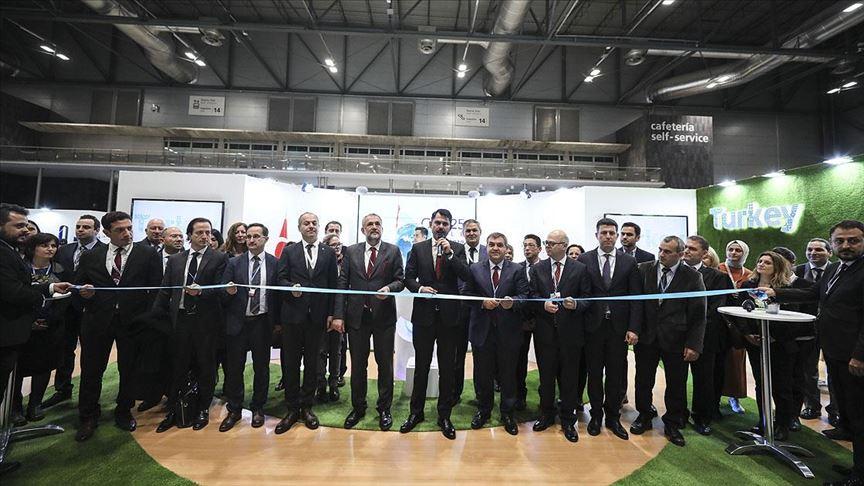 İklim Değişikliği Zirvesi'nde Türkiye standı açıldı