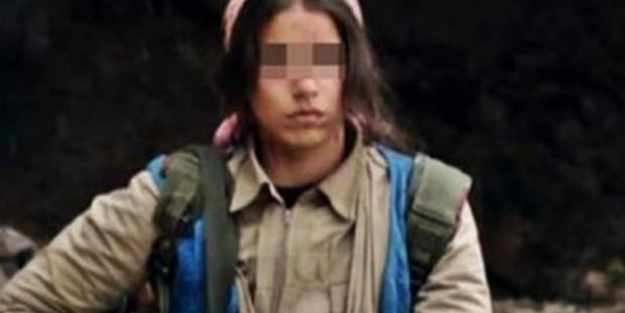 İkna edilen kadın terörist teslim oldu