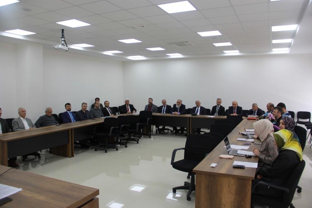 İlahiyat Fakültesi Vakfı mütevelli heyeti toplantısı gerçekleşti