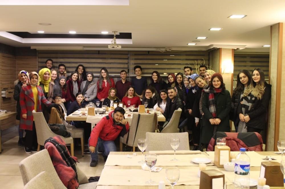 İletişim Fakültesinden, komite ekibine teşekkür yemeği