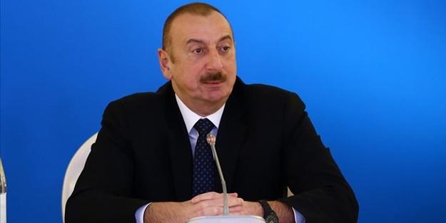 İlham Aliyev işgalci Ermenistan'ı uyardı! Dışarıdan saldırı gelirse Türk F-16'ları görürsün