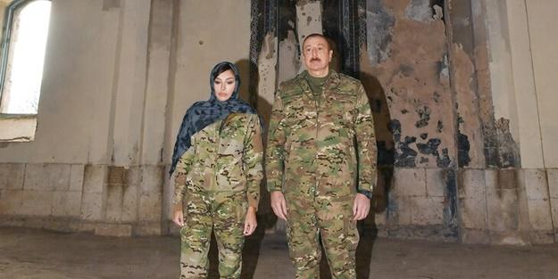 İlham Aliyev'den dünyaya çok net mesaj! İşte cami ziyaretinin şifreleri
