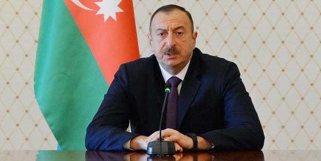 Aliyev'den anlamlı mesaj