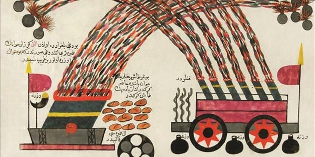İlk roketi Osmanlı keşfetti - FOTO