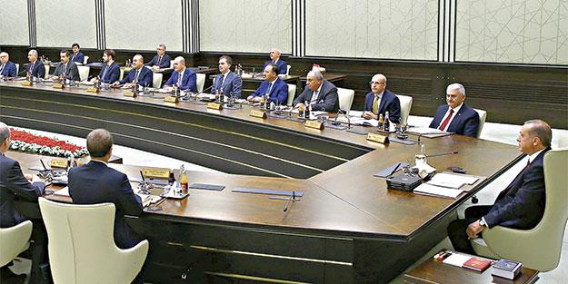 İlk toplantı Beştepe'de
