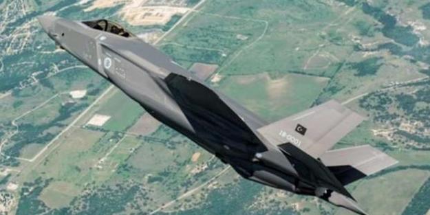 İlk Türk F-35'i böyle görüntülendi