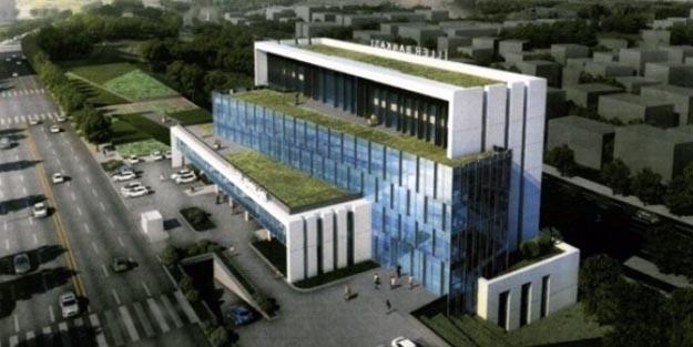 İller Bankası Yeni Binasında