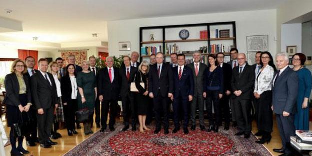 """İmamoğlu Ankara'da 27 ülkenin büyükelçisiyle görüştü! """"İş birliği yapmak zorundayız"""""""