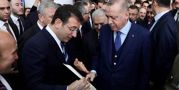 İmamoğlu'nun dün verdiği rapor sonrası Erdoğan'ın Kanal İstanbul sözleri dikkat çekti!