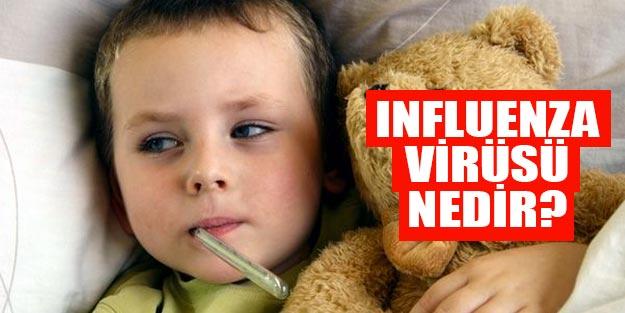 İnfluenza virüsleri nedir İnfluenza-grip nedenleri, belirtileri neler?