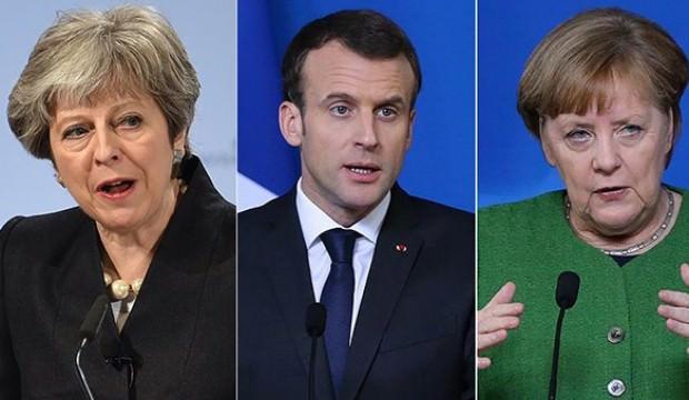 İngiltere, Fransa ve Almanya İran'ı görüştü