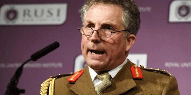 İngiltere Genelkurmay Başkanı açıkladı: Savaş her an çıkabilir