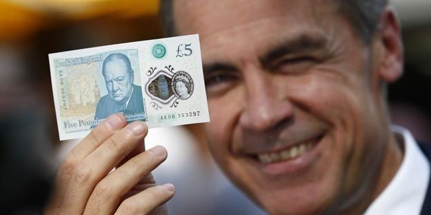 İngiltere plastik paraya geçiyor
