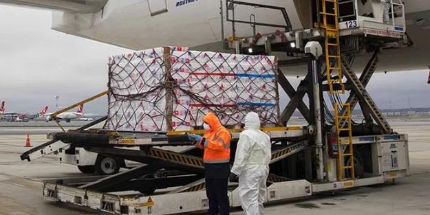 İngiltere Türkiye'den aldığı koruyucu ekipmanları iade ediyor